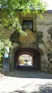 Das alte Stadttor - eigentlich der Eingang zum Fort