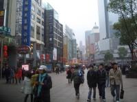 Nanjing Road, wo Touristen noch Touristen sind