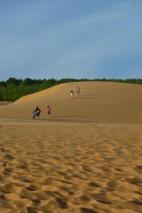 Die roten Sanddünen von Mui Ne