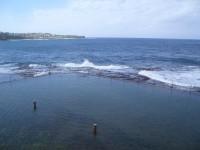 Felsenbad am Meer