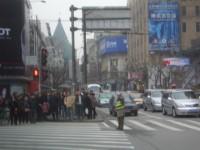 Traffic Assistant bei der Arbeit - man beachte die funktionierende Ampel